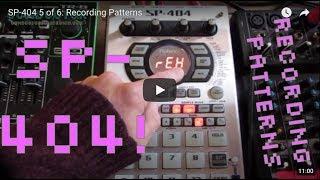 Roland SP-404A & Boss SP-202   Making A Lo-Fi Jazz Hip Hop