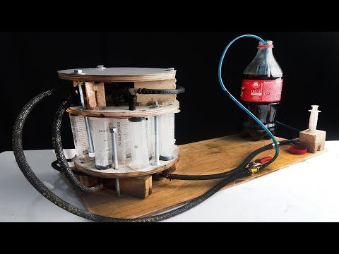 How To Make A Powerful Hydraulic Telescopic Jack From Syringes