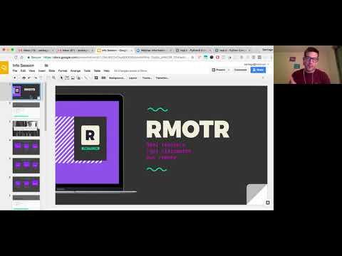 RMOTR - Info Session - Python Courses - September 2017