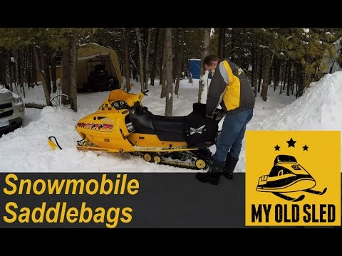 Snowmobile Accessories: Saddle Bags