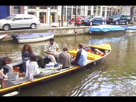 BBQ on the canals of Amsterdam