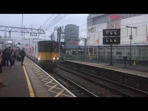 London Overground Class 315 815 & 802 ECS 5V96 to Ilford Depot