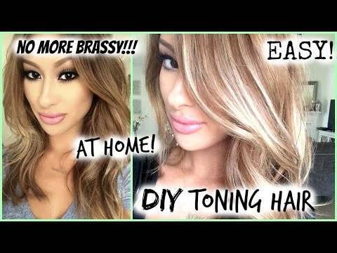 HOW TO/DIY: TONED HAIR-ROOTS! EASY-My Hair Color