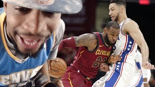 LEBRON vs THE ROOKIE OF THE YEAR! CAVS vs SIXERS HIGHLIGHTS REACTION