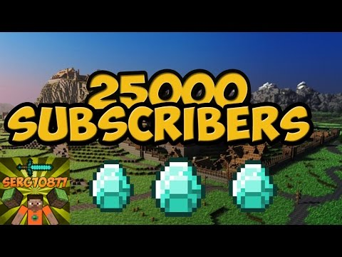 25,000 Subscribers!