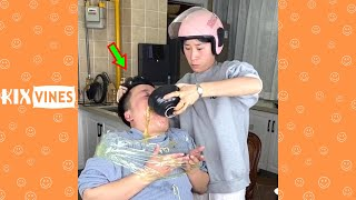 Funny videos 2021 ✦ Funny pranks try not to laugh challenge P173