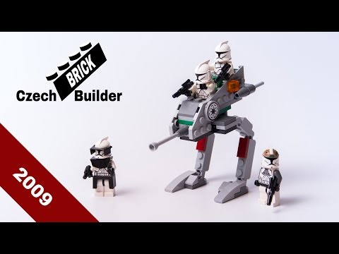 Lego - Back To History - 8014  Clone Walker Battle Pack - 2009 Lego Speed Build