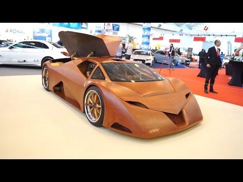 Splinter | The First Wooden Car | EssenMotorShow2015
