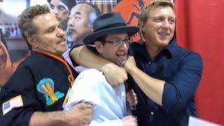 Talking with Cobra Kai Members Martin Kove and Billy Zabka