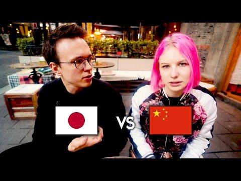 CHINY kontra JAPONIA