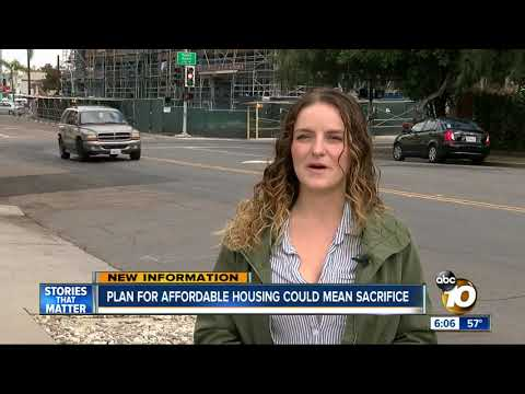 Plan for affordable housing in San Diego could mean sacrifice