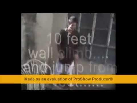 10 feet wall climb