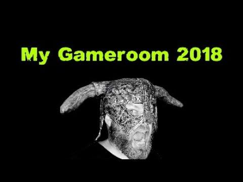 Gameroom Tour 2018