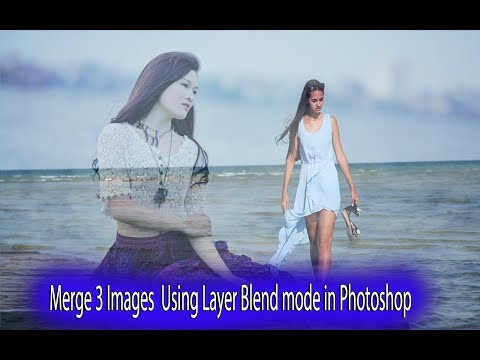 Merge Layer blend modes in Photoshop