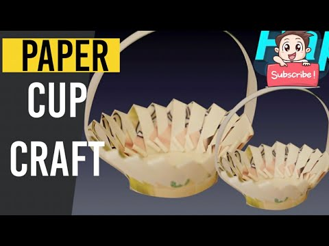 Amazing Paper Cup Crafts DIY Videos for Kids | Paper Cups Life Hacks | Easy Paper Cups Craft Ideas