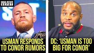 Kamaru Usman sends bizarre message to Conor; DC reacts to Usman vs Conor rumors, Bisping, MMA News