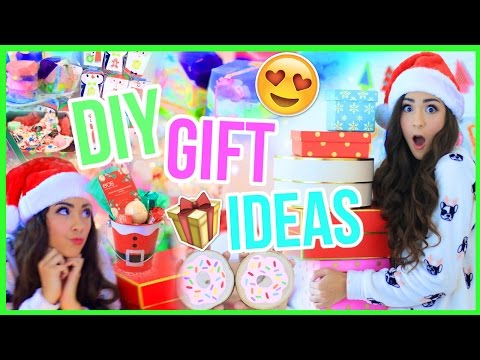 7 DIY HOLIDAY GIFT IDEAS! Easy and Cheap!