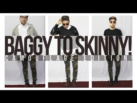 Baggy to Skinny: Camouflage Edition + How I Styled Them!