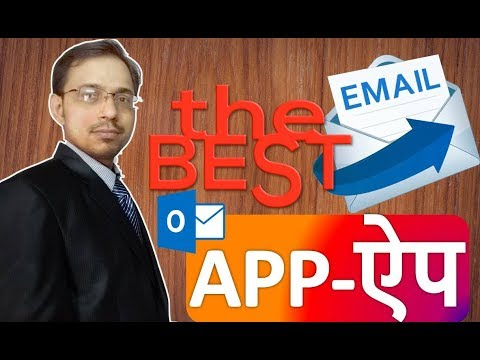 The Best email app outlook, add email account, delete email  account in outlook app