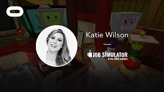 Job Simulator: The 2050 Archives | VR Playthrough | Oculus Rift Stream with Katie Wilson