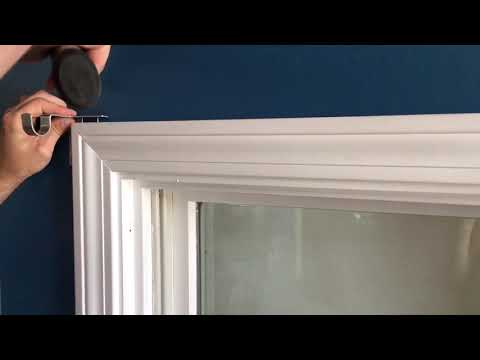 Hang Curtains In Seconds!! No Nails Or Screws Needed.