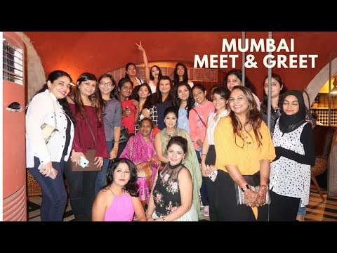 Mumbai   Meet & Greet   Vlog   Sonal Maherali