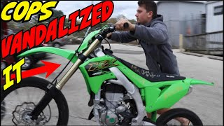 COPS Give Bike Back from Impound Lot! (2020 KX450)