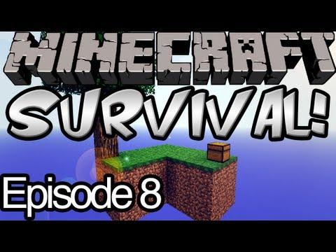 Minecraft Skyblock Survival Ep.8 - Snow!