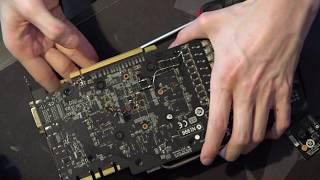 MSI GTX 770 Lightning GPU core reactor testing and modding.