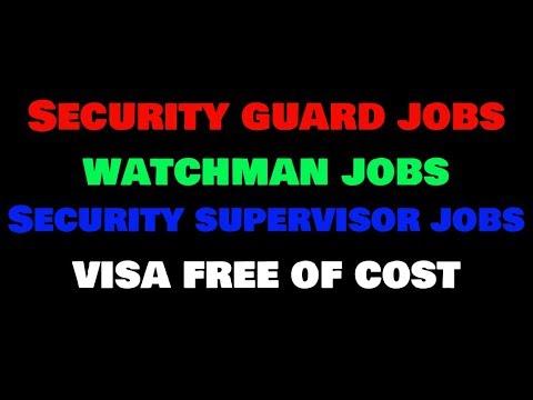 | Security Guard Jobs in Dubai | Watchman Jobs in Dubai | Security Supervisor Jobs in Dubai |