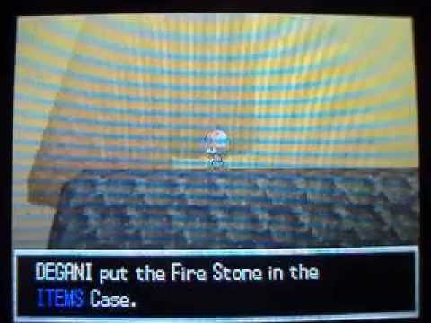 Pokemon Black/White - How to get Fire Stone
