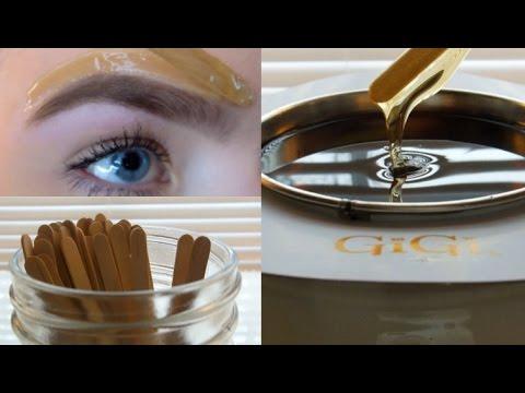 How I Wax My Eyebrows!!
