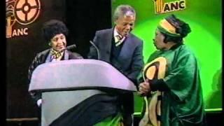 NELSON MANDELA:SPEECH [LIVE 1990] [PART 1]
