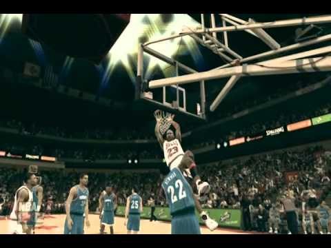 NBA 2k12 Michael Jordan Dunk Mix