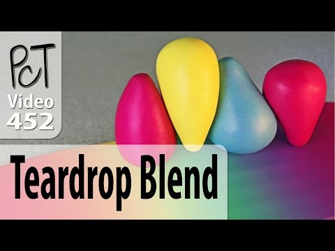 Lietz Teardrop Blend - Polymer Color Blends Made Easy