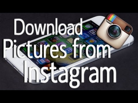 How To Download Pictures From Instagram (Cydia Tweak) | for iPhone, iPod touch, and iPad!