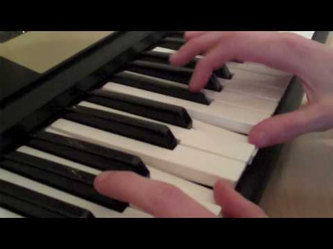 How to play Pink Panther Theme on Piano (Left and Right hand)
