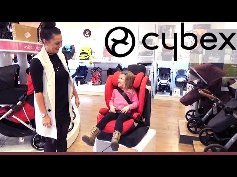 Cybex Solution M Fix Group 2 & 3 Car Seat - How To Use - Direct2Mum