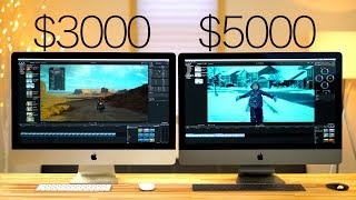 iMac Pro vs 2017 5K iMac - Video editing with Final Cut X - FCX