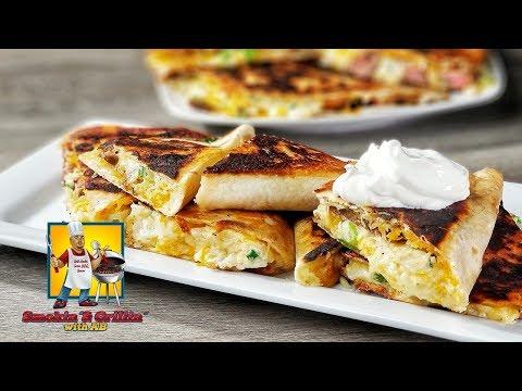 Chicken Quesadilla - Steak Quesadilla  How to make Quesadillas Mexican Food