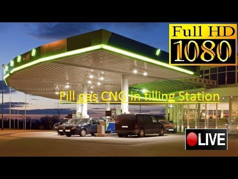 How to fill gas CNG in filling Station