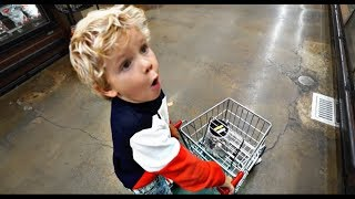 4 Year Old Tydus SHOPPING NIGHTMARE!!