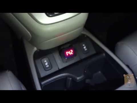 Car Battery Cigarette Lighter LED Voltmeter Review