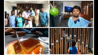 Anniversary day decoration vlog/bread pudding/அப்பா அம்மா கல்யாண நாளை எவ்வாறு கொண்டாடினோம்
