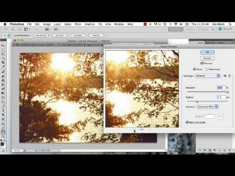 How to Zoom In on a Photo & Enhance : Photo Editing in Photoshop