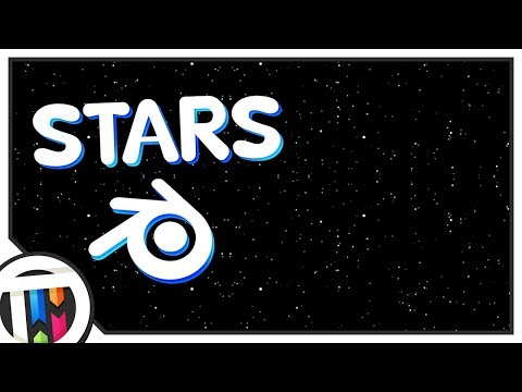 Blender Tutorial - How to create Stars!