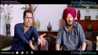 Gurpreet Ghuggi, Binnu Dhillon, Jaswinder Bhalla & Gippy Grewal   Marriage Comedy HD 1