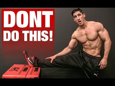 Stretching is KILLING Your Gains (BIG MISTAKE!)