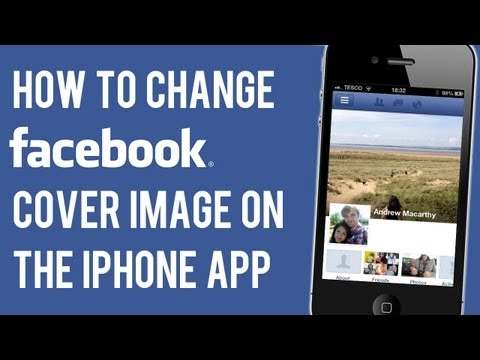 How to Change Facebook Cover Image on iPhone App | Change Cover Photo on iPhone