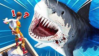 *NEW* BABY SHARK ATTACK CUSTOM GAMEMODE! (Fortnite: Battle Royale)